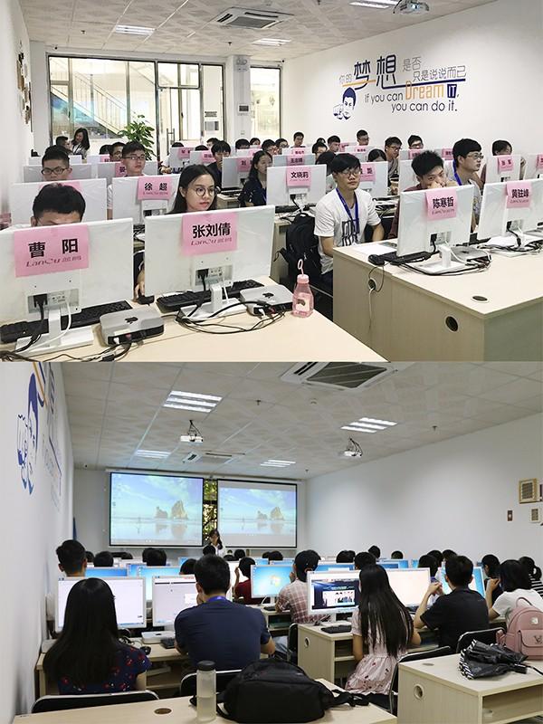 高职院校教学改革_湖北工业大学学子到蓝鸥广州参加java培训vr培训和html5培训实训课程